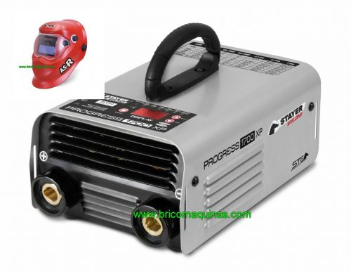 SOLDADURA INVERTER STAYER PROGRESS XP 1700 MAS PANTALLA AUTOMATICA