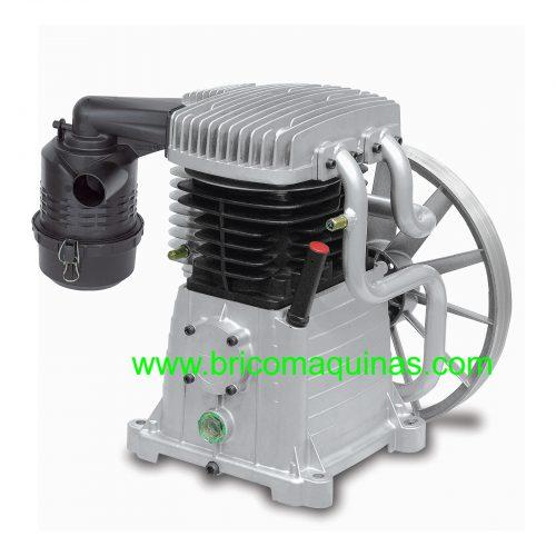 Cabezal de !0 hp para compresores de aire comprimido. Aunque es de la marca Abac, se puede colocar en cualquier otra marca de compresores.