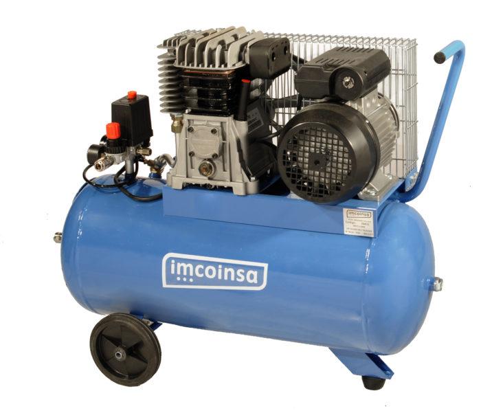 Compresor Imcoinsa de 2 hp por correas