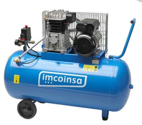compresor Imcoinsa de 2 hp deposito de 100 litros