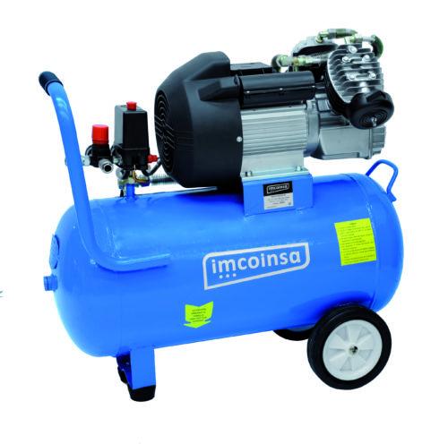Compresor Imcoinsa con cilindros en v de 3 hp 50 litros