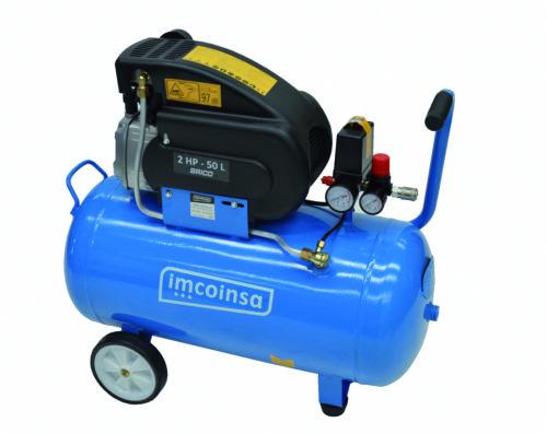 Compresor Imcoinsa 2hp 50 litros bricolaje