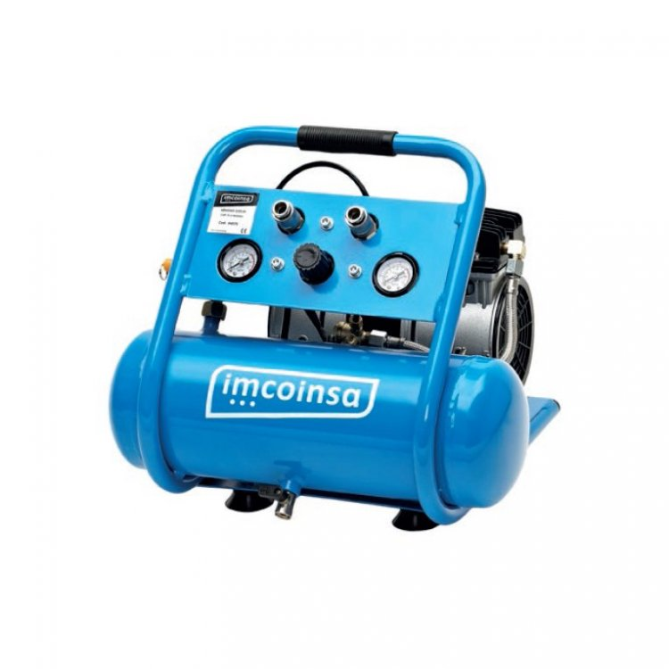 Compresor Imcoinsa silencioso 3/4 hp 6 litros