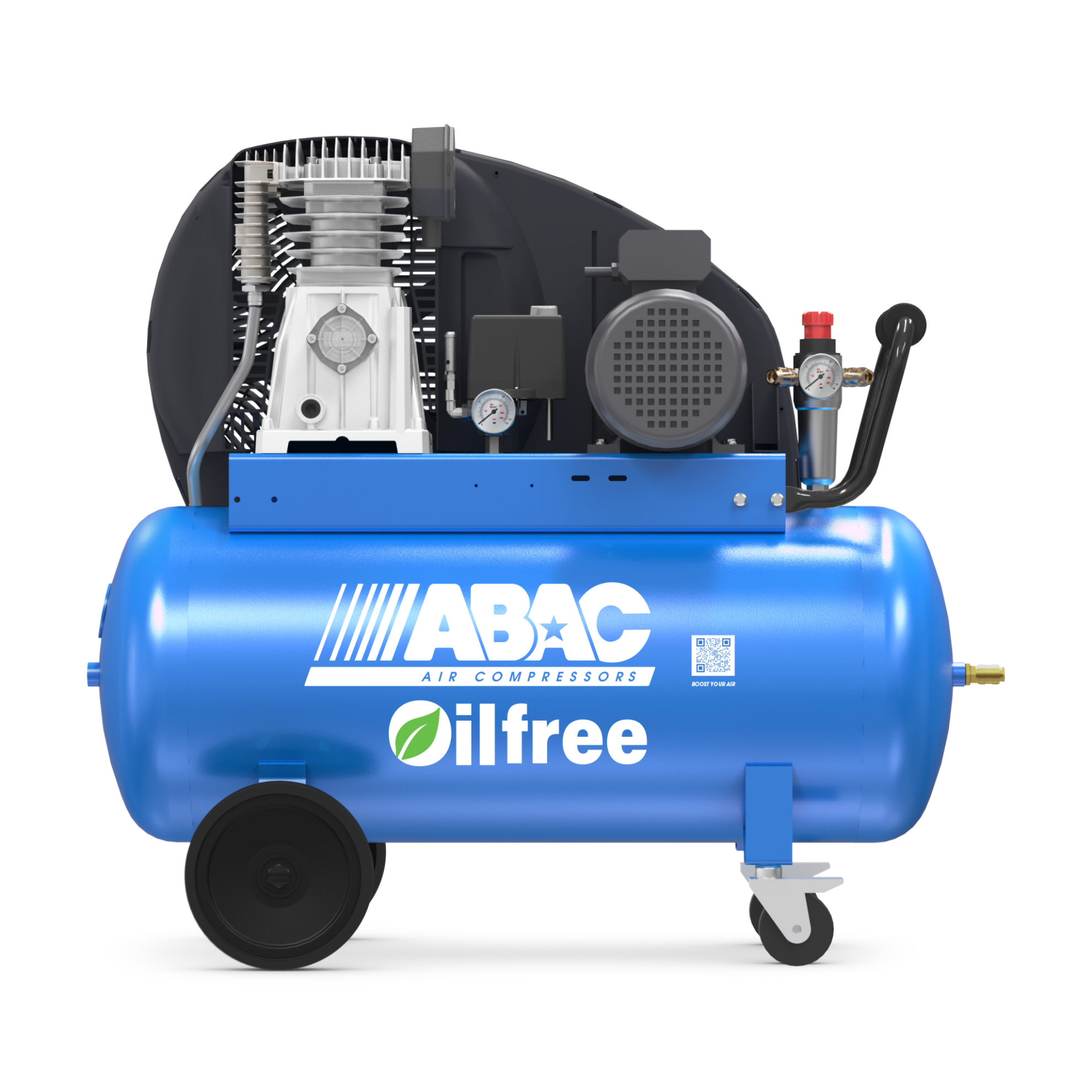 Compresor Abac 3 hp sin aceite